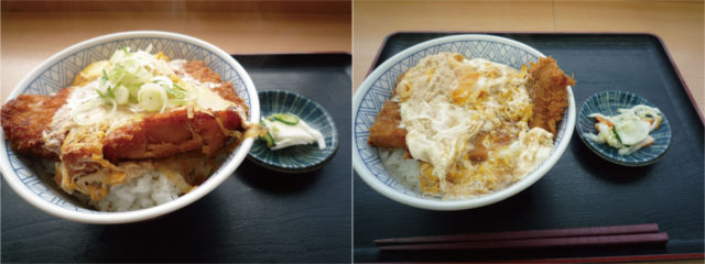 【おべんとうのヒライ】なぜカツ丼が2つ?『ザ・カツ丼』と『大江戸カツ丼』違いは何?食べ比べてみた。