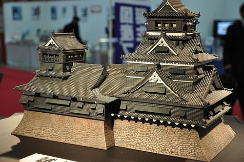 熊本城のプラモデルがすごいことになっている!組み立てるのに1年以上!?定価3万円弱?!
