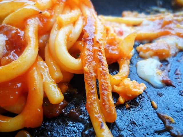 お弁当のヒライ鉄板ナポリタン14