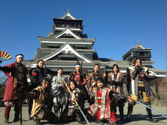 JAF会員必見!復旧工事中の熊本城を見学できるチャンス!「熊本城おもてなし武将隊と巡る熊本城」イベント
