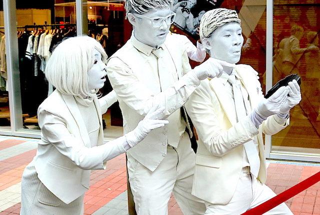 あなたは目撃した?会うと幸せになれる『東京ハック』×『THE SUIT COMPANY』