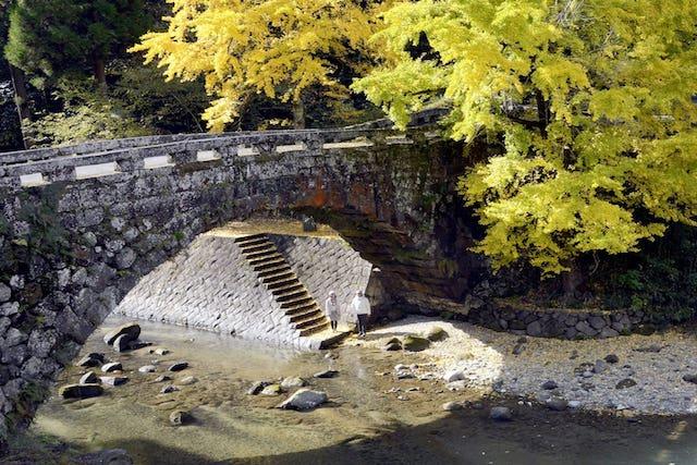 【熊本ニュース】ハートが浮かび上がる『恋人の聖地』18日復活 美里町の二俣橋、供用へ