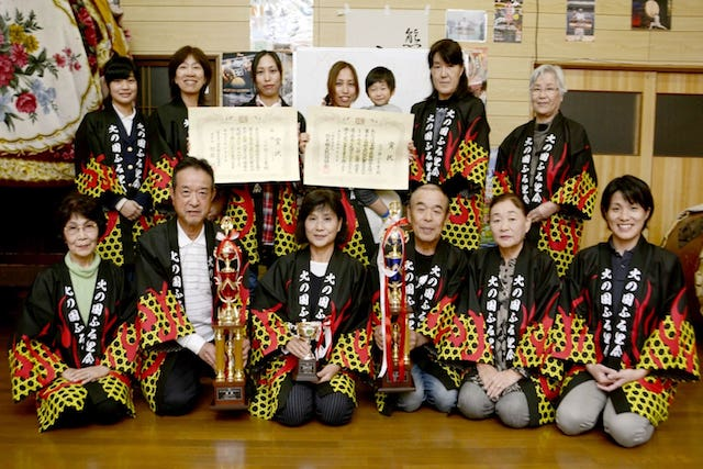 【熊本ニュース】民謡全国大会で初V 大津町の「火の国ふる里会」