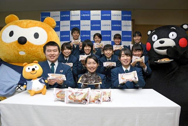 【本日発売】熊本・球磨商業高校生が開発のタイピーエンピロシキがローソンで販売