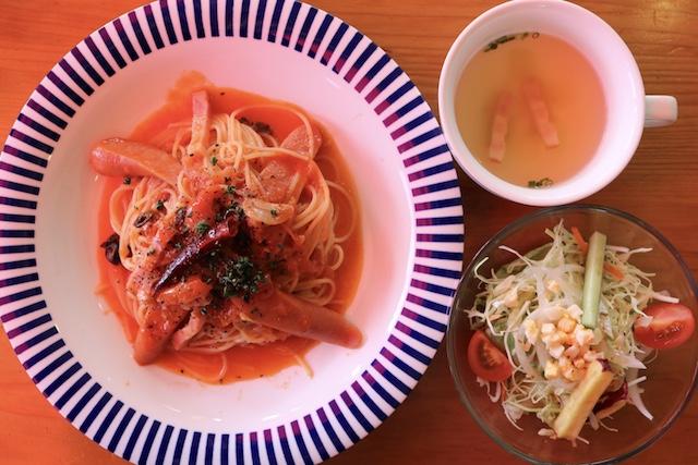 【熊本グルメ】美里町のパスタが絶品の人気店『コムシロンカフェ』で激辛アラビアータを食べてみた