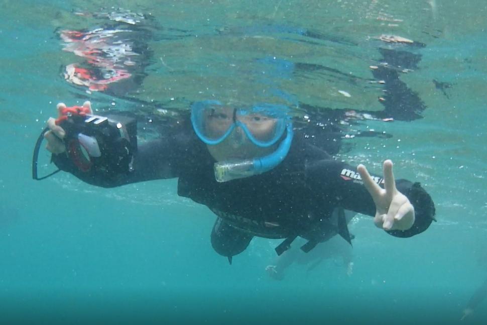 熊本の海でおしごと体験!小学生が水中カメラマンに挑戦!by海と日本プロジェクト