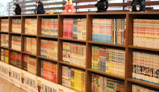 高速道路の新休憩場所!北熊本SA下り線で3,000冊以上のマンガが読める『くまもとMANGAプール 1号館』オープン