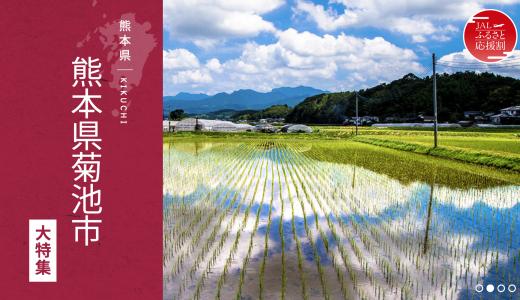 JALと熊本県菊池市がコラボ。宿泊して1万円相当がもらえるおトク旅