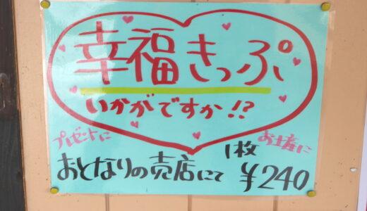 おかどめ幸福駅で幸福切符を買ってカフェでのんびりしませんか?・球磨郡あさぎり町