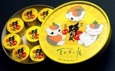 【ネットでも買える】熊本の銘菓「陣太鼓」が「夏目友人帳」のニャンコ先生とコラボ